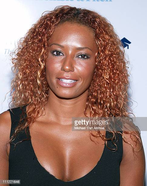 Melanie Brown aka Scary Spice during The Pointer Foundation Host The 1st Annual LGBT Stars of Tomorrow Benefit at DGA in Hollywood California United...