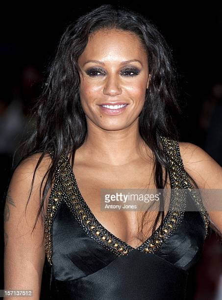 Melanie Brown Arrives For The Premiere Of The Film Michael Jackson'S This Is It At The Odeon West End In London