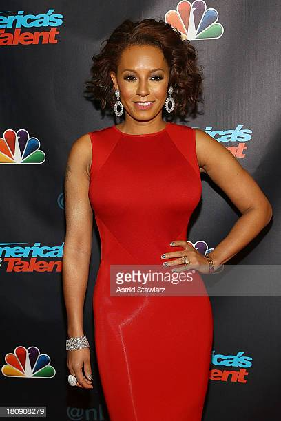 """Melanie Brown attends """"America's Got Talent"""" Season 8 Pre-Show Red Carpet Event at Radio City Music Hall on September 17, 2013 in New York City."""