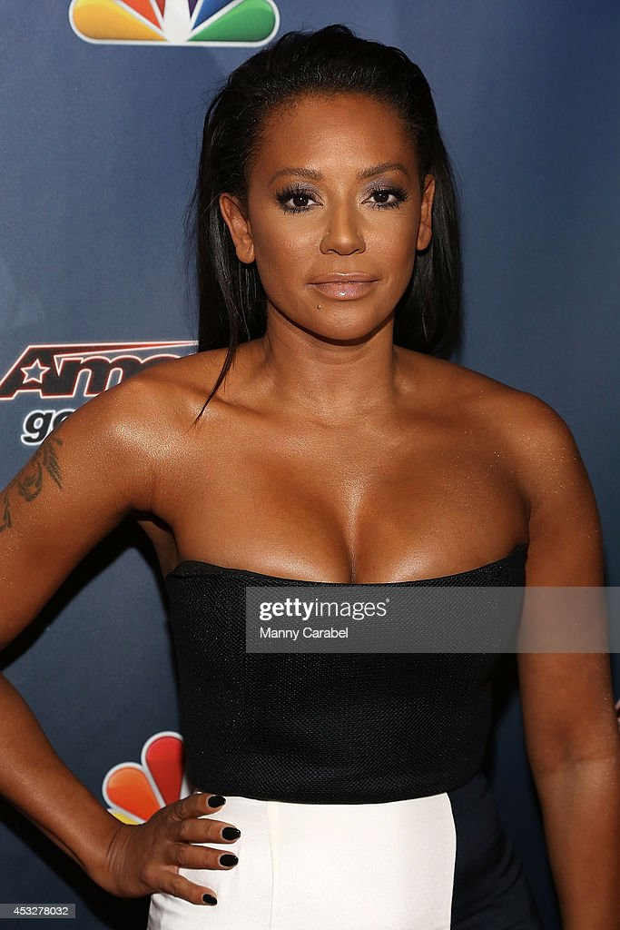 Melanie Brown attends 'America's Got Talent' season 9 post show red carpet event at Radio City Music Hall on August 6, 2014 in New York City.
