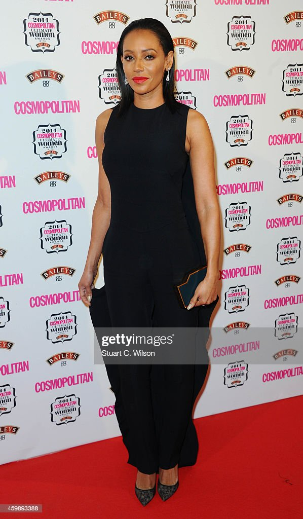 Melanie Brown attends the Cosmopolitan Ultimate Women of the Year Awards at One Mayfair on December 3, 2014 in London, England.