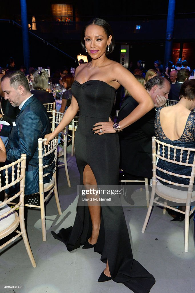 Melanie Brown attends the second annual SeriousFun Network Gala at at The Roundhouse on November 4, 2014 in London, England.