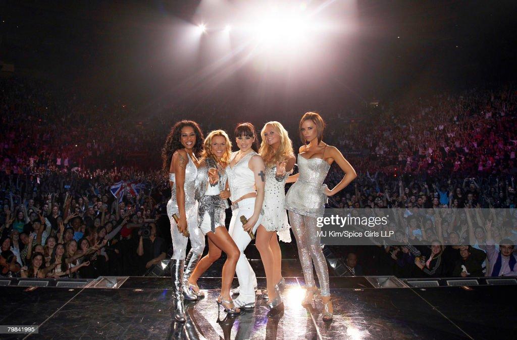 Spice Girls World Tour 2007: New York - Exclusive Performance : ニュース写真