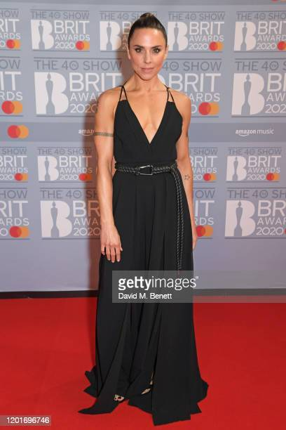 Melanie C aka Sporty Spice attends The BRIT Awards 2020 at The O2 Arena on February 18, 2020 in London, England.