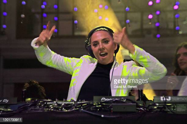 Melanie C aka Sporty Spice attends the Universal Music BRIT Awards after-party 2020 hosted by Soho House & PATRON at The Ned on February 18, 2020 in...