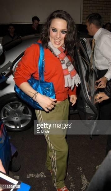 Melanie C Arriving To Perform At The GAY Nightclub