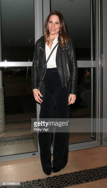 Melanie C attends preview screening of 'I Tonya' at The Soho Hotel on January 30 2018 in London England