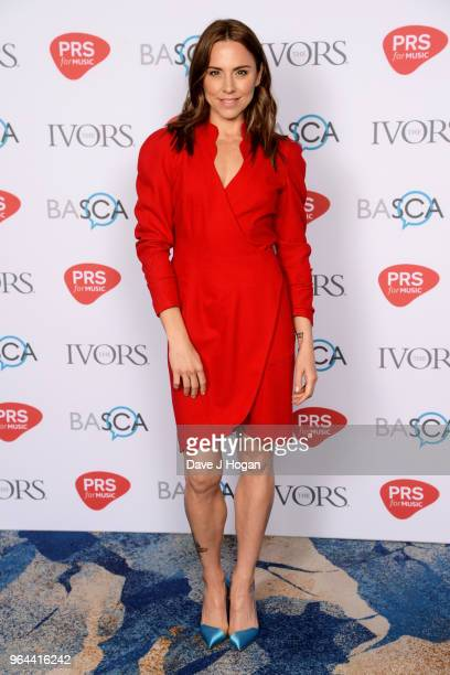 Melanie C attends the Ivor Novello Awards 2018 at Grosvenor House on May 31 2018 in London England