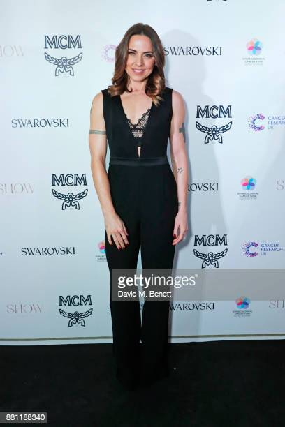 Melanie C attends the Lady Garden Gala in aid of Silent No More Gynaecological Cancer Fund and Cancer Research UK at Claridge's Hotel on November 28,...