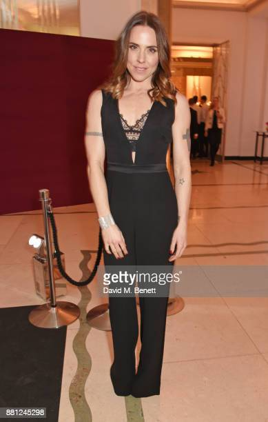 Melanie C attends the Lady Garden Gala in aid of Silent No More Gynaecological Cancer Fund and Cancer Research UK at Claridge's Hotel on November 28...