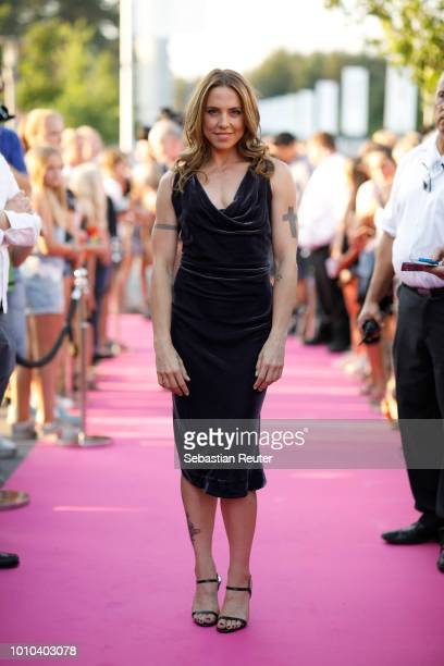 Melanie C. Attends the Late Night Shopping at Designer Outlet Soltau on August 3, 2018 in Soltau, Germany.
