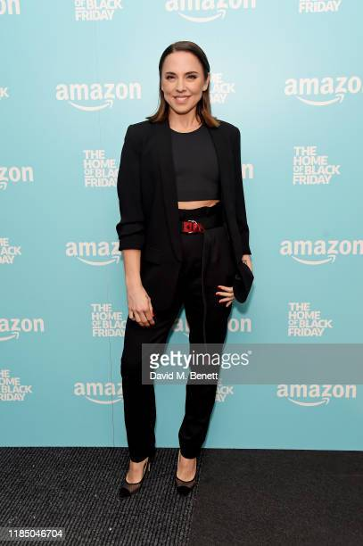 Melanie C attends the launch of Amazon's Home of Black Friday in Waterloo on November 27, 2019 in London, England.