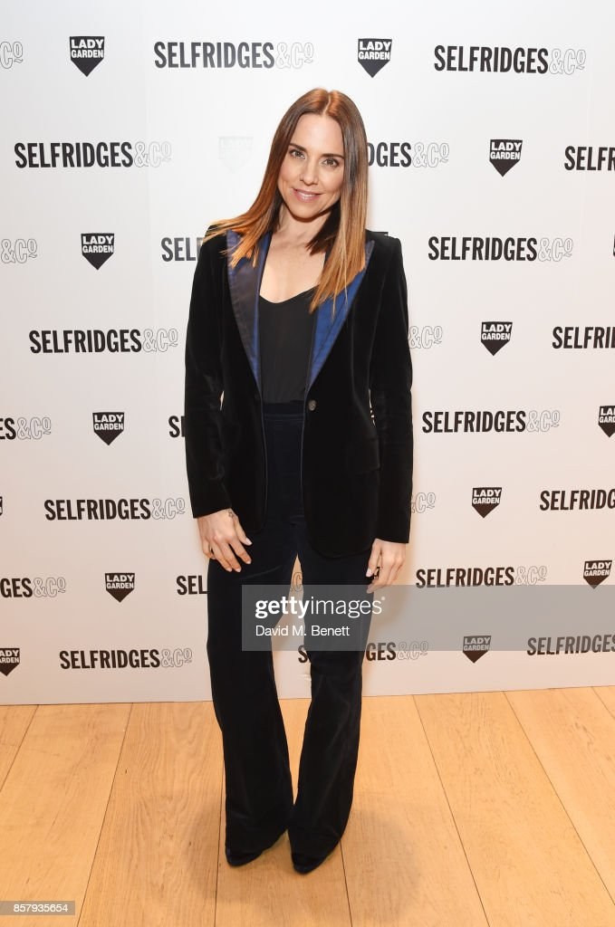 Melanie C attends the launch of the new Lady Garden limited edition t-shirts designed by Naomi Campbell, Cara Delevingne, Poppy Delevingne, Chloe Delevingne, Suki Waterhouse and Charlotte Tilbury to raise awareness and funds for the Gynaecological Cancer Fund at Selfridges on October 5, 2017 in London, England.