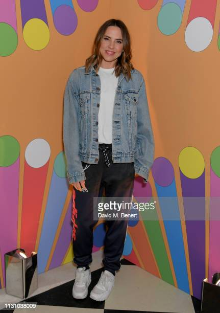 Melanie C attends the Universal Music BRIT Awards After-Party 2019 hosted by Soho House and BACARDI rum at The Ned on February 20, 2019 in London,...