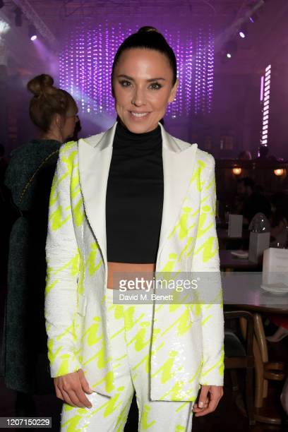 Melanie C attends the Universal Music BRIT Awards afterparty 2020 hosted by Soho House PATRÓN at The Ned on February 18 2020 in London England