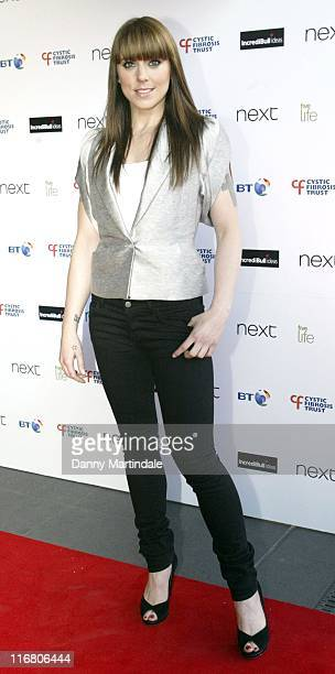 Melanie C during Cystic Fibrosis Trust 'Breathing Life Awards' Red Carpet Arrivals at Hilton London Metropole in London Great Britain