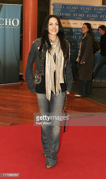 Melanie C during ECHO Music Awards 2006 Red Carpet and Press Room at Estrel Convention Centre in Berlin Germany