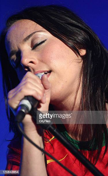 Melanie C during Melanie C Performing at the Algarve Summer Festival at Faro in Faro Algarve Portugal