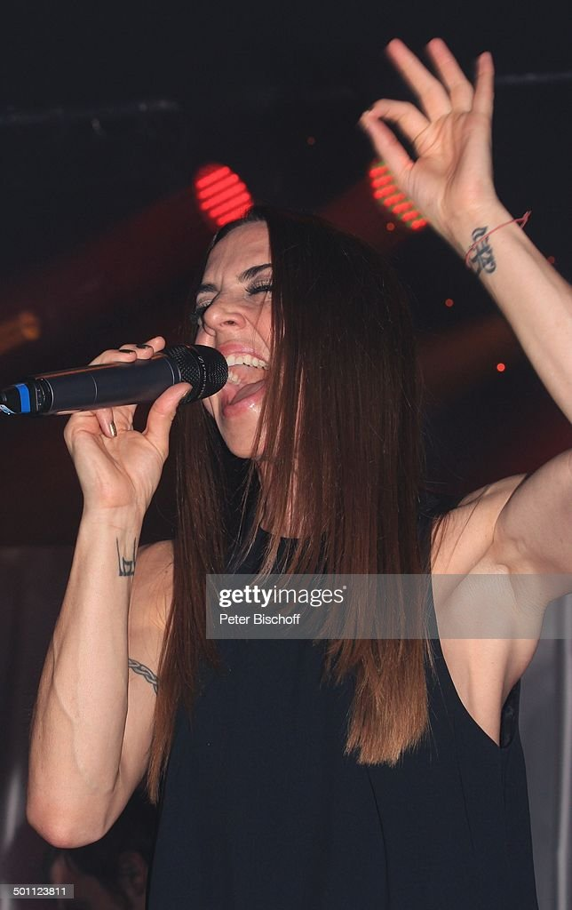 """Melanie C. (Ex- Girlsgroup """"Spice Girls""""), Gala 31. """"Deutscher Sportpresseball"""", Alt : Nachrichtenfoto"""