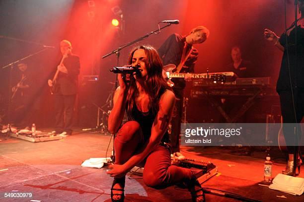 Melanie C oder Mel C buergerlich Melanie Jayne Chisholm die britische Saengerin und Songwriterin im Hamburger Gruenspan