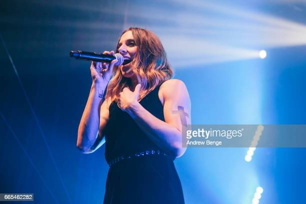 Melanie C performs at The O2 Ritz Manchester on April 6, 2017 in Manchester, England.