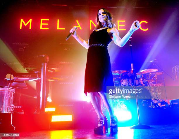 Melanie C performs at The O2 Ritz Manchester on April 6 2017 in Manchester England
