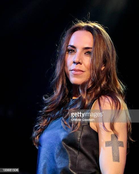 Melanie C performs on stage at Shepherds Bush Empire on November 6 2012 in London United Kingdom
