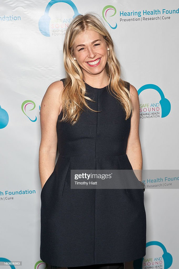 Melanie Charlton attends the Hearing Health Foundation's An Intimate Evening with Cyndi Lauper at B.B. King Blues Club & Grill on February 6, 2013 in New York City.