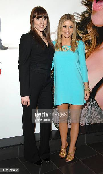 Melanie Chisholm and Carmen Electra during 'I Want Candy' London Premiere Inside Arrivals at Vue West End in London Great Britain