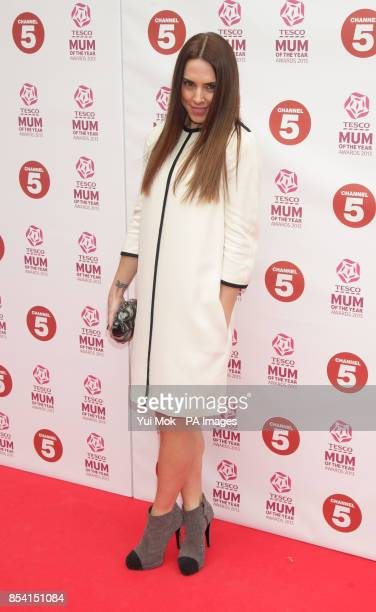Melanie Chisholm arriving for the Tesco Mum of the Year Awards at The Savoy hotel in central London