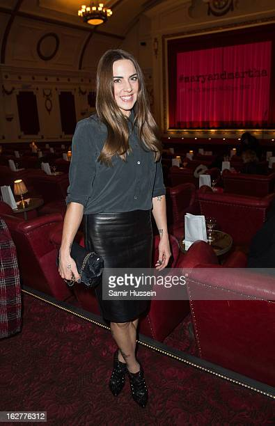 Melanie Chisholm attends the private screening of Mary Martha hosted by Emma Freud at the Electric Cinema on February 26 2013 in London England The...