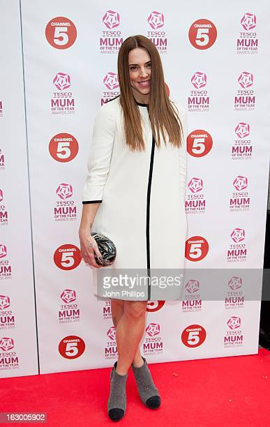 Melanie Chisholm attends the Tesco Mum of the Year awards at The Savoy Hotel on March 3 2013 in London England