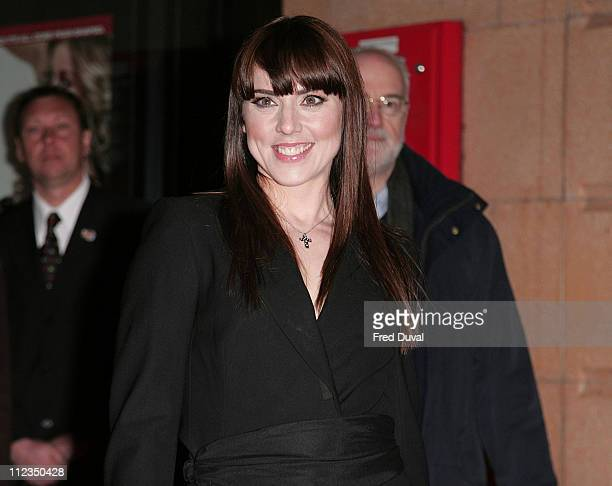 Melanie Chisholm during 'I Want Candy' London Premiere Red Carpet at Vue West End in London Great Britain