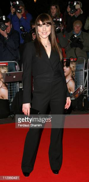 Melanie Chisholm during 'I Want Candy' London Premiere Red Carpet Arrivals at Vue West End in London United Kingdom