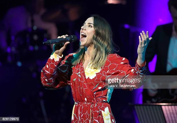 Melanie Chisholm performs on stage during The Magic of Christmas at London Palladium on November 27 2016 in London England