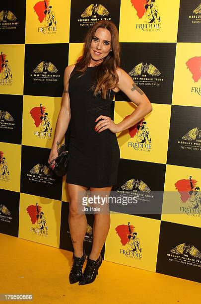 Melanie Chisolm attends the Freddie for a Day charity event in aid of The Mercury Phoenix Trust at The Savoy Hotel on September 5 2013 in London...