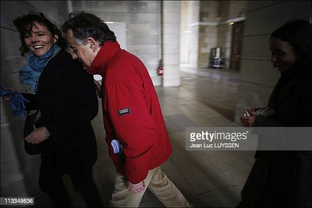 Melanie Delloye Betancourt On The Launch Day Of The Manifest For The Liberation Of Ingrid Betancourt In Paris, France On January 23, 2007 - Florence...