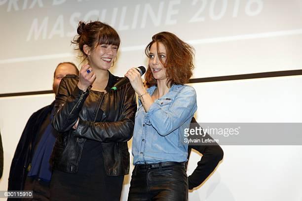Melanie Doutey and Melanie Bernier attend 'Les Arcs European Film Festival' Closing Ceremony on December 16 2016 in Les Arcs France