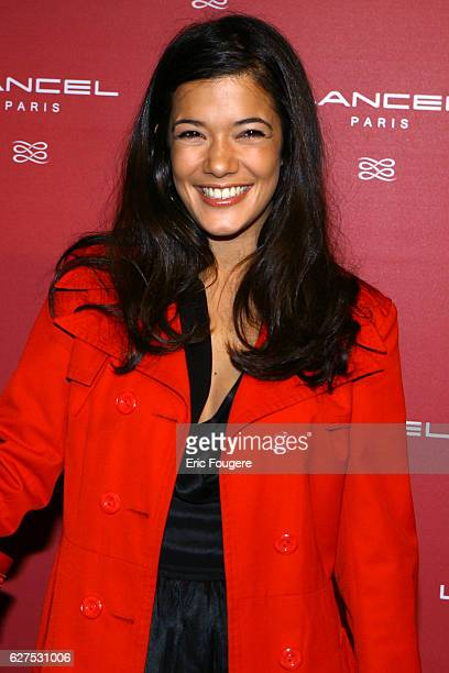 Melanie Doutey at the Lancel Red Party held at the Olympia in Paris