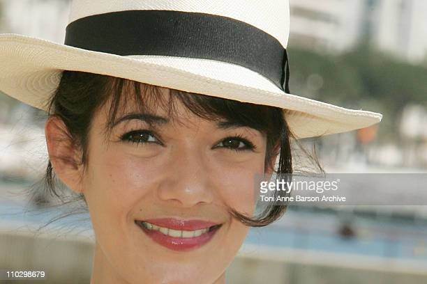 Melanie Doutey during MIPTV 2007 The Hunt for Troy Photocall with Melanie Doutey at Majestic Hotel in Cannes France
