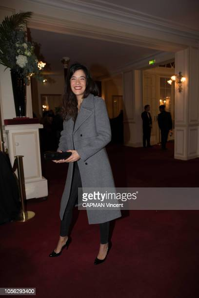 Melanie Doutey is photographed for Paris Match at the evening for the Al Pacino show at the Theatre de Paris on October 22 2018 in Paris France