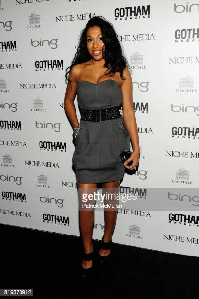 Melanie Fiona attends ALICIA KEYS Hosts GOTHAM MAGAZINES Annual Gala Presented by BING at Capitale on March 15, 2010 in New York City.