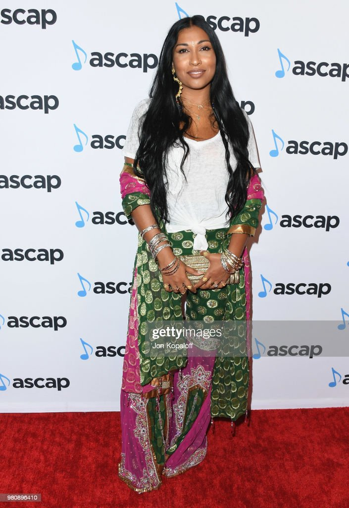 Melanie Fiona attends the 2018 ASCAP Rhythm & Soul Music Awards at the Beverly Wilshire Four Seasons Hotel on June 21, 2018 in Beverly Hills, California.