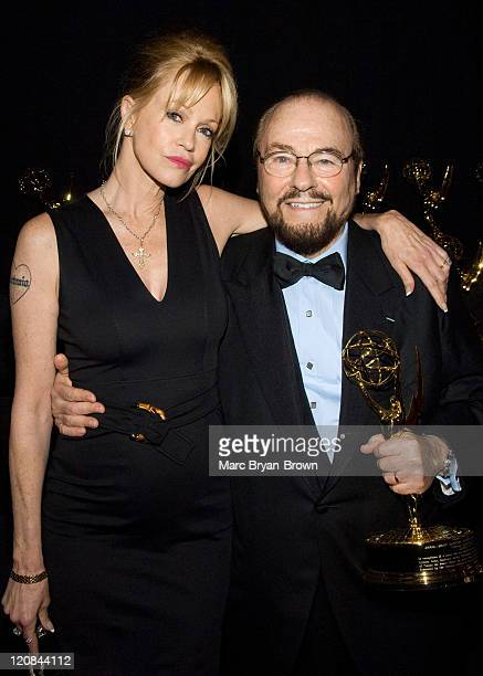 Melanie Griffith and James Lipton during The 2007 Daytime Creative Arts and Entertainment EMMY Awards at Renaissance Ballroom in Los Angeles...
