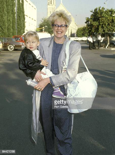 Melanie Griffith and Son Alexander Bauer