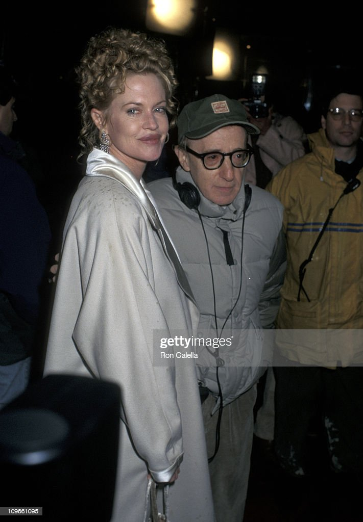 Melanie Griffith and Woody Allen during On the Set of Woody Allenu0027s u0027Celebrityu0027 -  sc 1 st  Getty Images & On the Set of Woody Allenu0027s