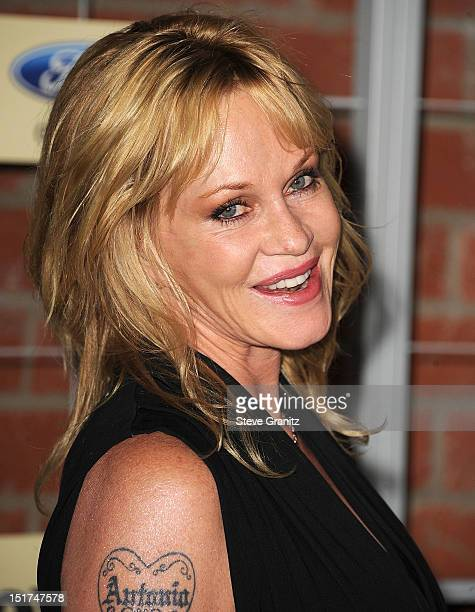 Melanie Griffith arrives at the FOX Fall EcoCasino Party at The Bookbindery on September 10 2012 in Culver City California