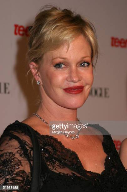 Melanie Griffith arrives at the Teen Vogue Young Hollywood Party at Chateau Marmont on September 23 2004 in Hollywood California