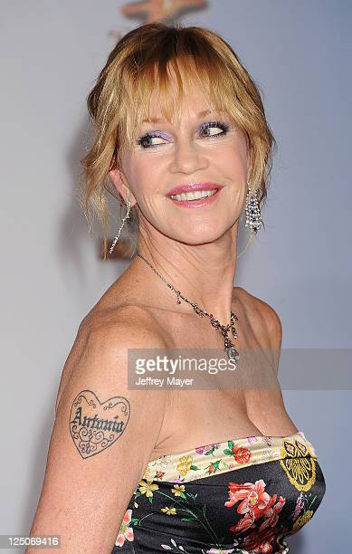 Melanie Griffith attends the 2011 NCR ALMA Awards at Santa Monica Civic Auditorium on September 10 2011 in Santa Monica California