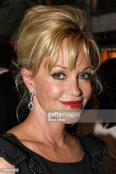 Melanie Griffith attends the 64th Annual Tony Awards at Radio City Music Hall on June 13 2010 in New York City